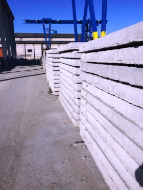 cestný panel 3000x2000x150  prefabeton