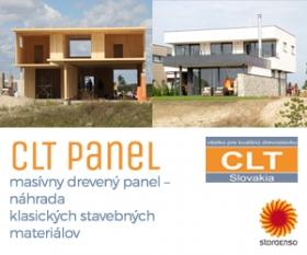 Jednoduchá rýchla a ekologická výstavba - CLT panely
