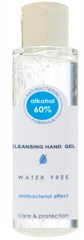 Antibakteriálny/ dezinfekčný gel na ruky s tlačou loga