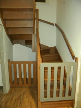 Drevené schody a zábradlia