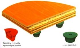 Kaučukové športové podlahy Mondo