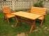 Záhradný nábytok borovicové sedenie