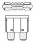 Autoelektrické diely - poistky, konektory