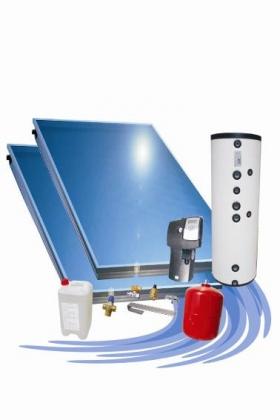 Solárna zostava Attack Solartherm 200 - pre rovnú strechu