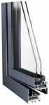 Hliníkové okná a dvere - Sapa Plaisance 50