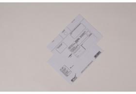 Doručenkové obálky B6, 125x176mm, Doporučene, Do vlastných rúk, Opakované doručenie, Nedoposielať-olizové