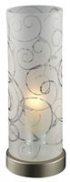 Stolové svietidlá - Satina Tl. Glas floral