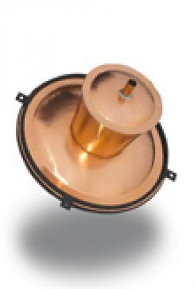 Príslušenstvo pre destilačné prístroje - Medený klobúk na kotol