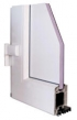 Plastové dvere Inoutic Prestige - Stavebná hĺbka rámu 76 mm