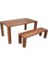 Drevený jedálenský stôl Verte