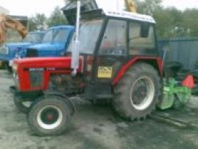 Údržba komunikácií - Traktor Zetor 7711