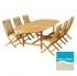 Záhradný set nábytku (stôl a stoličky) Manis