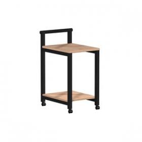 Školský nábytok - pojazdný stôl , čierna konštrukcia