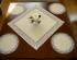 Reštauračný textil - Bavlnené obrusy s teflónovou úpravou Natural
