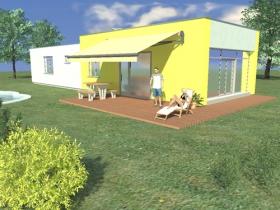 Predaj a výstavba nízkoenergetických domov - Rodinný dom 06