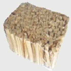 Balené drevené triesky