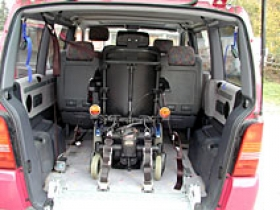 Úpravy automobilov - Kotvenie vozíkov