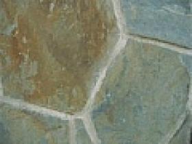 Kamenný obklad - Bridlica B5 10-50cm, 1-2 cm zelenohnedý