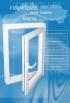 Okná a dvere - Fiberglass