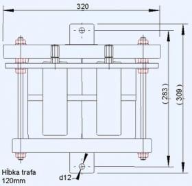 Jednofázové súčtové transformátory prúdu ST2001